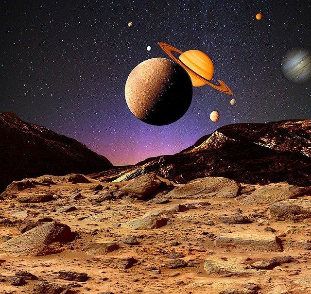 Aflicción Maléfica Marte – Saturno